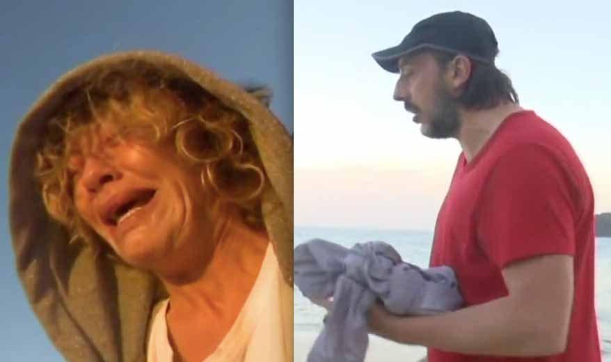 Isola, Eva Grimaldi litiga con Massimo Ceccherini e scoppia a piangere. Ecco perché