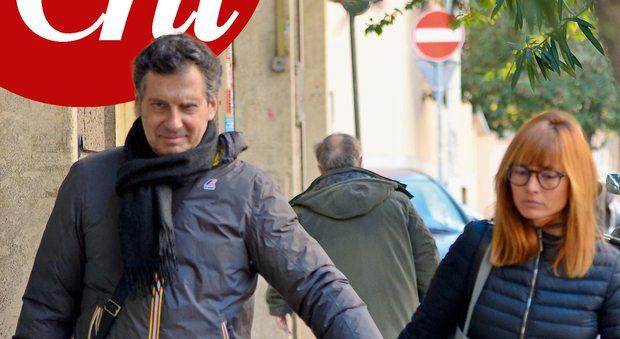 Fabrizio Frizzi, la prima uscita dopo l'ischemia: ecco le foto
